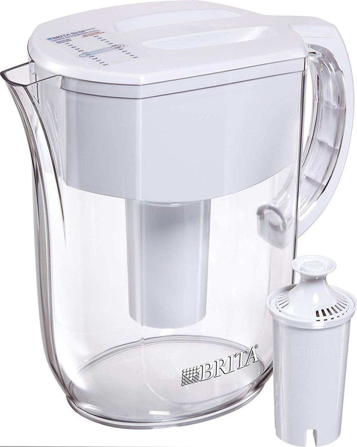 Brita water pitcher 10cup water filter find the perfect