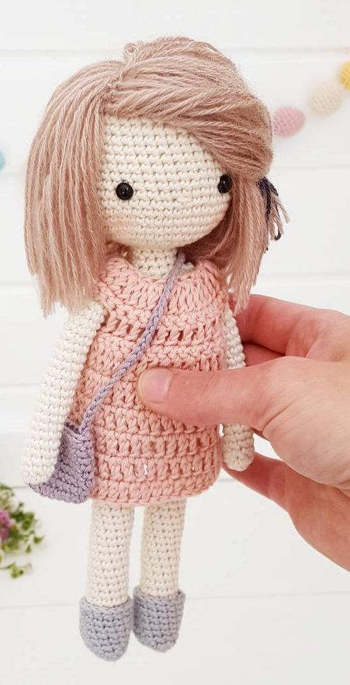 37+ Cute and Handcraft Amigurumi Crochet Pattern Images Part 18 #crochetdoll