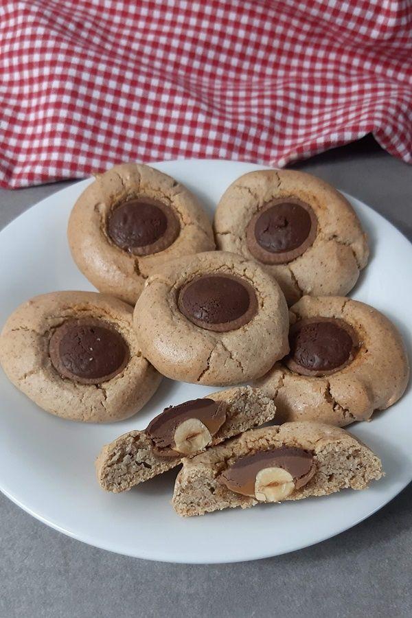 Backen mit Toffifee! So machst du weiche Cookies mit Toffifee #kuchenkekse