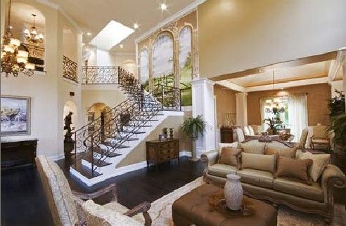 This is going to just be my living room when i become rich for Million dollar home designs