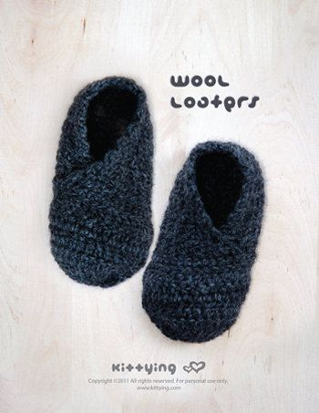 Crochet Pattern Wool Toddler Loafers Toddler Booties Toddler Slip-on Shoes Crochet Moccasin Crochet Pattern Size 4 5 6 7 8 9