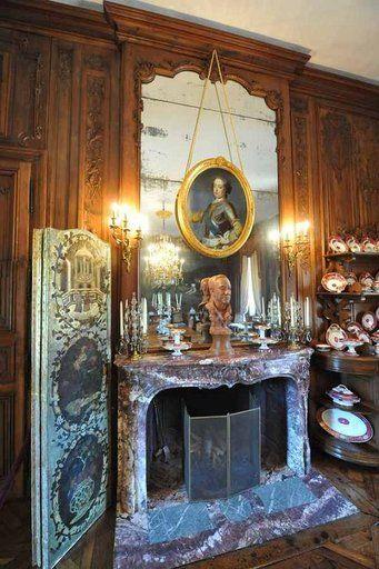 Chateau De Balleroy Normandie La Salle A Manger Redecoree Par