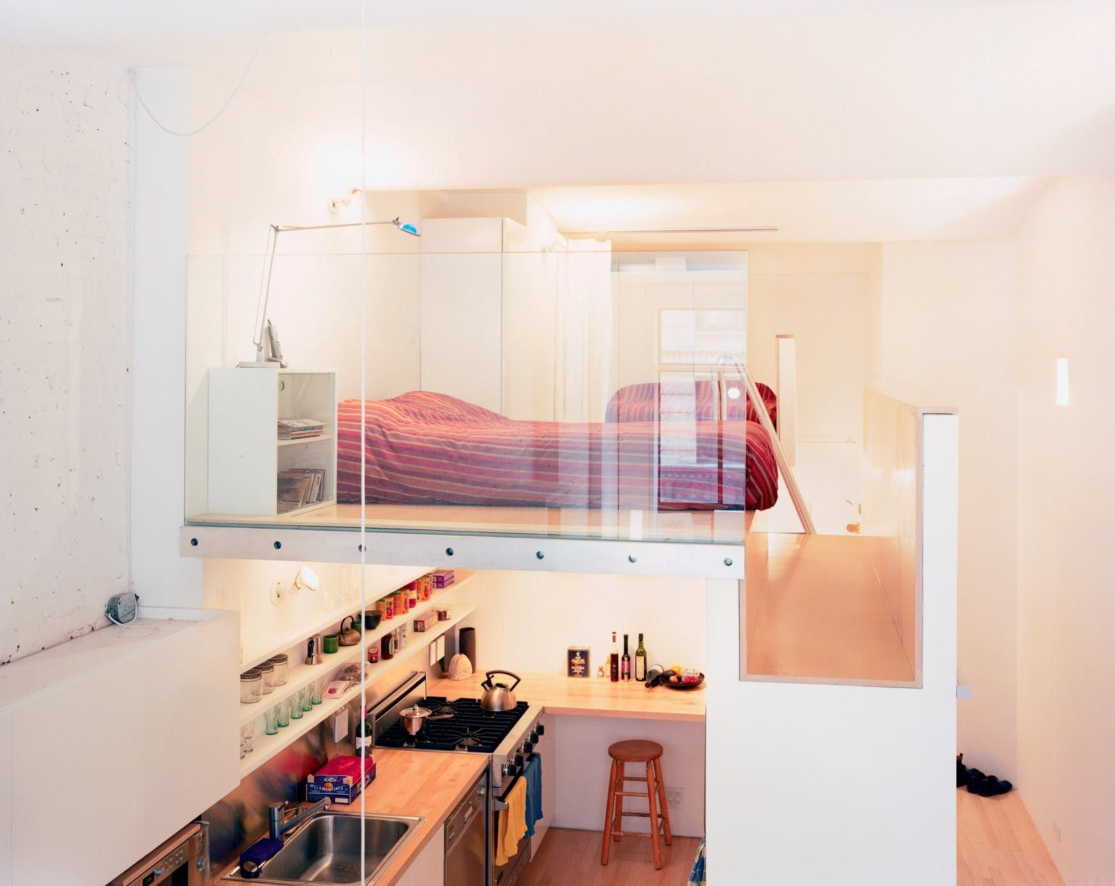A Narrow Loft Gets A Total Redo To Solve Its