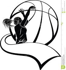 Image Result For Basketball Clipart Black And White Basketball Clipart Basketball Girls Basketball Silhouette