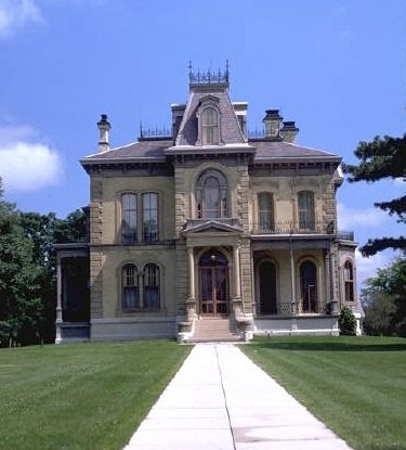 images about second empire style house on Pinterest       images about second empire style house on Pinterest   Winchester Mystery House  Empire and Mansard Roof