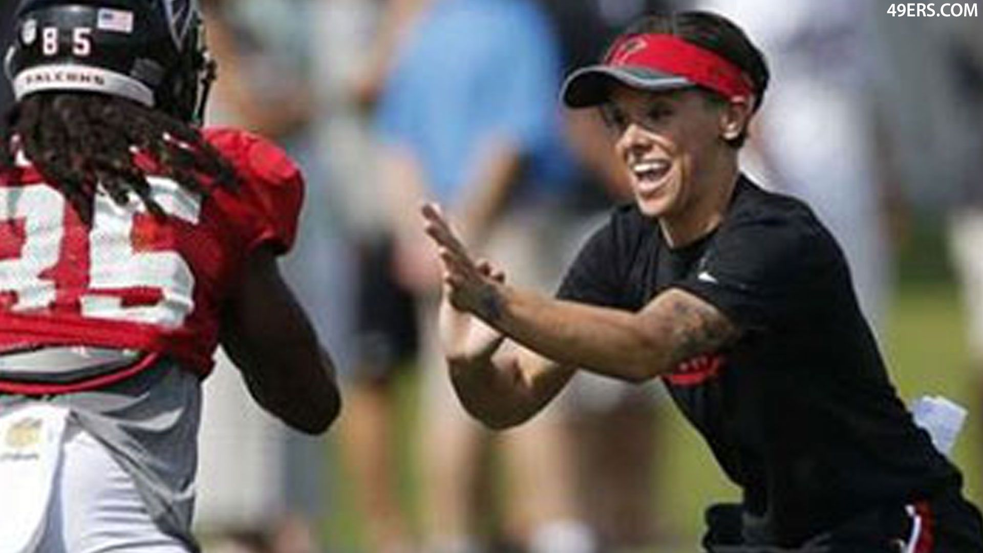 Shanahan 49ers intern Katie Sowers 'did as good of a job