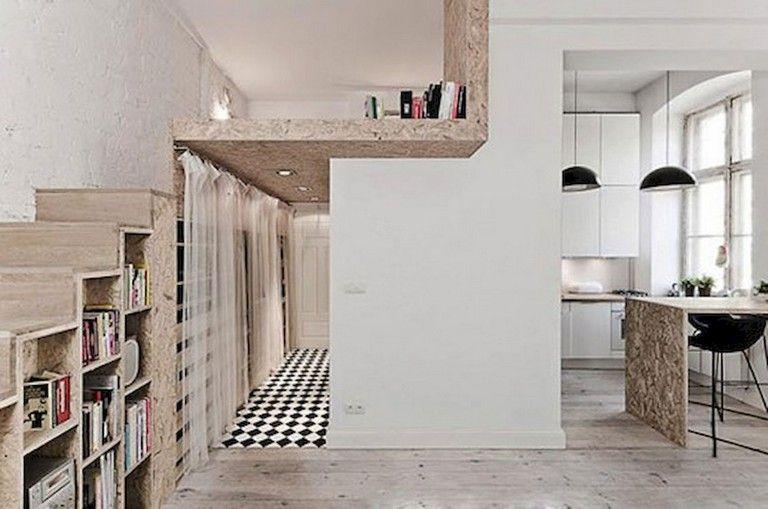52 Stunning Tiny Loft Apartment Decor Ideas Tiny Loft Loft Apartment Decorating Loft Apartment