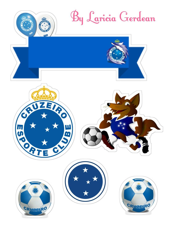 Topo Cruzeiro Com Imagens Bolo Do Cruzeiro Topo De Bolo Bolo