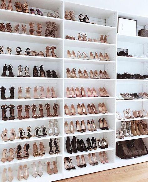 Small Walk In Closet Organization Ideas Storage Dressing Rooms 55+ Ideas For 2020 - Image 25 of 25 #bedroomstorageorganization