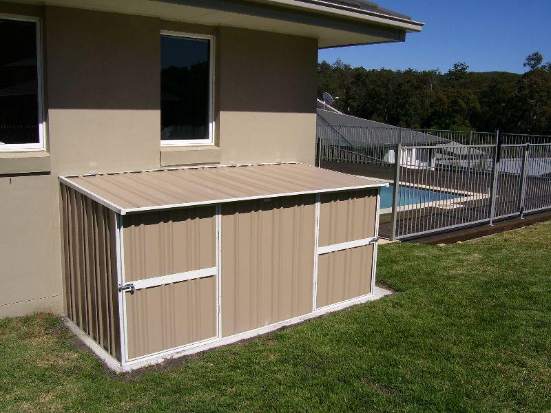Pool Equipment Enclosure Ideas Pool equipment enclosure
