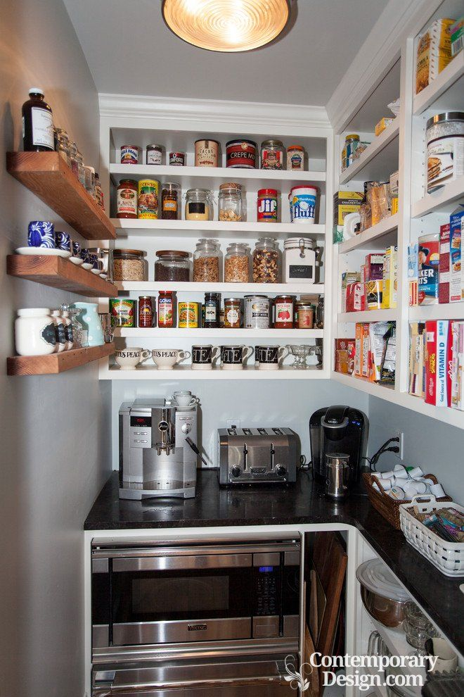 Small Walk In Pantry Designs In 2020 Kitchen Pantry Design