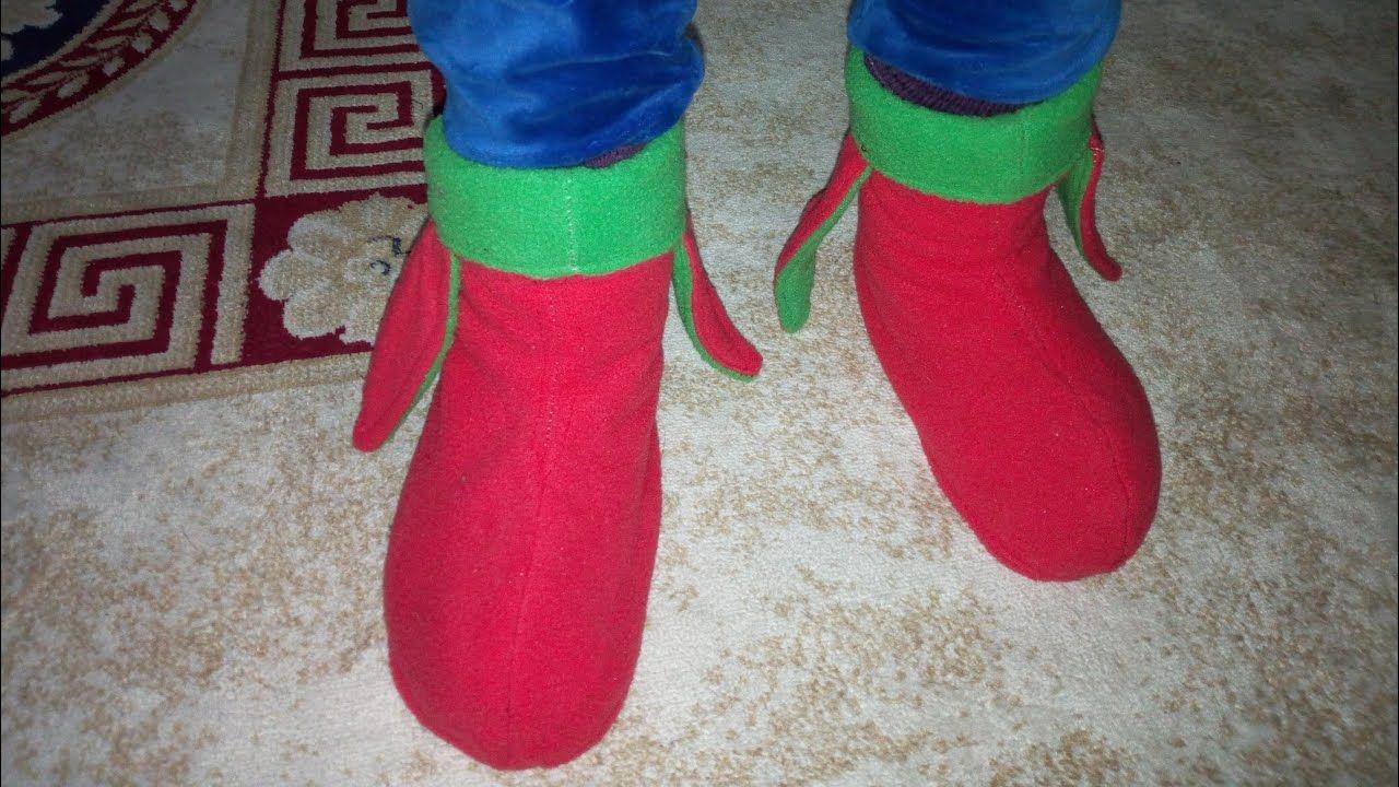 تفصيل و خياطة لكلوك او خف او جوارب شتوية من بقايا القماش بطريقة جد سهلة Youtube Socks