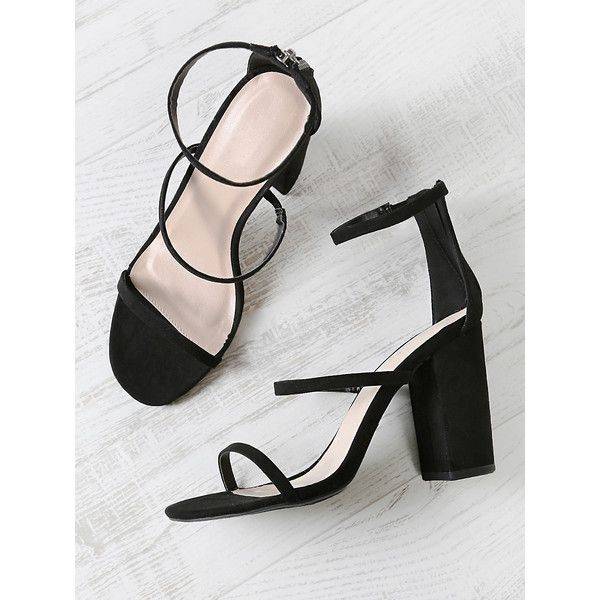 a88a854dd3a5 Victoria Beckham Suede Anna Ankle Strap Heels 695 liked on