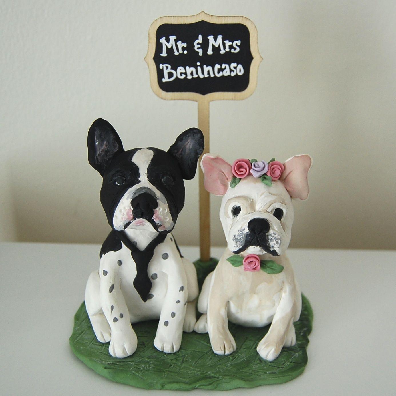 Dog Theme Wedding Cake Topper By Jollitops