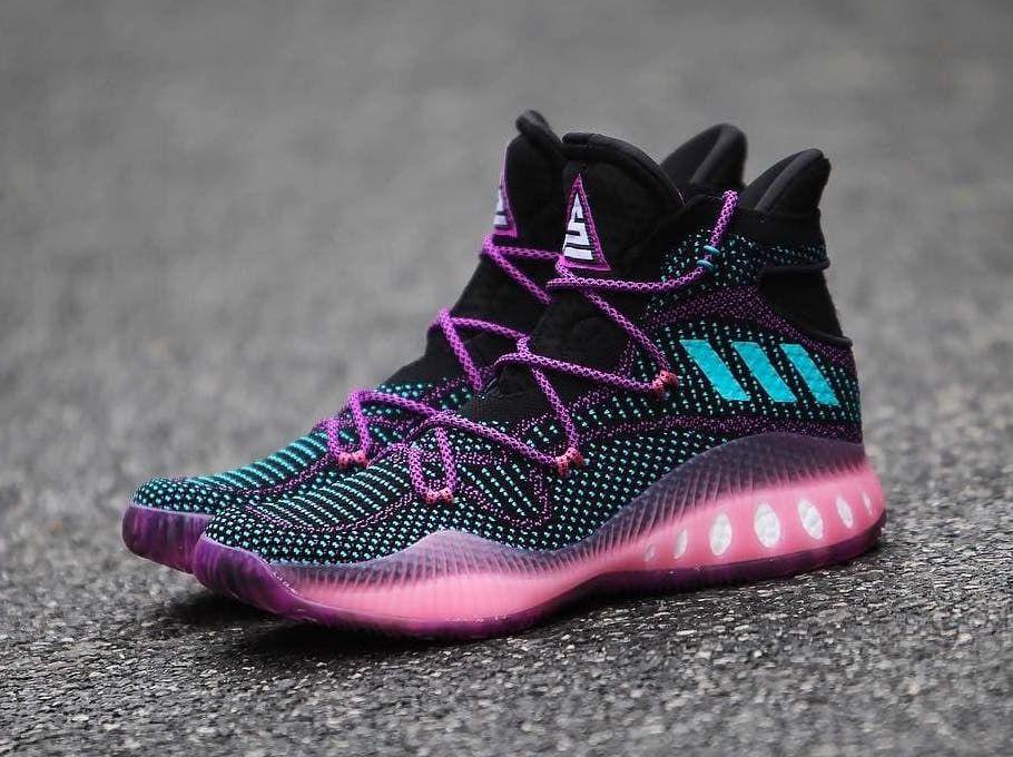 Adidas Crazy explosivo Swaggy P PE negro rosa bb8338 SBD sneaker