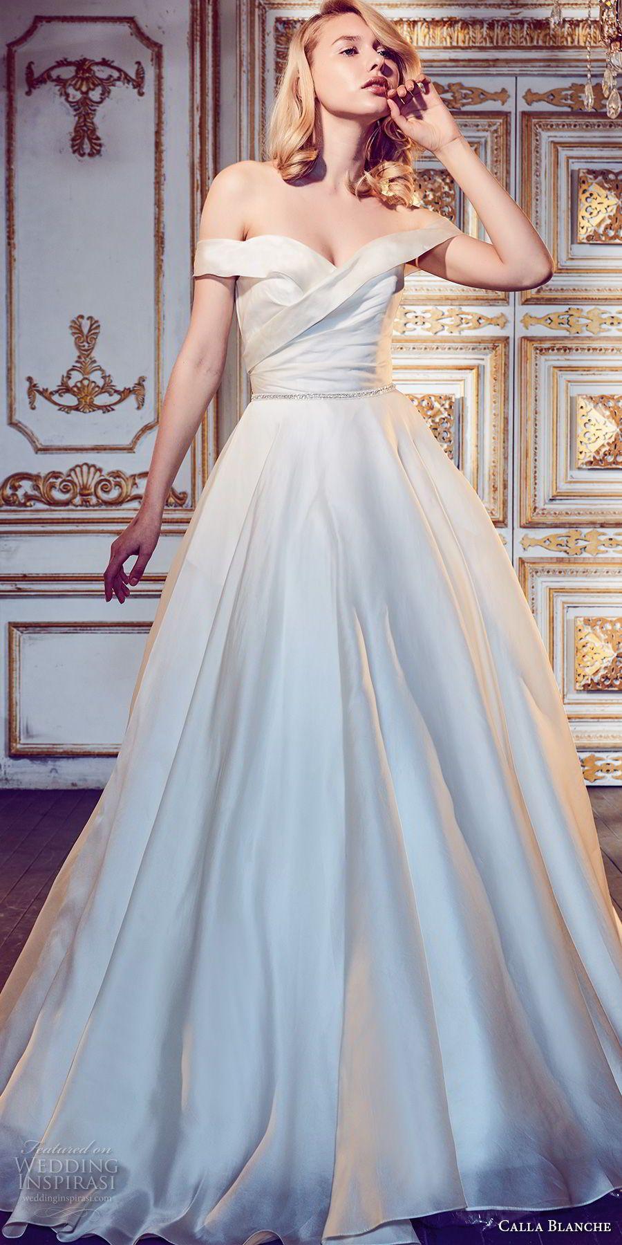 Calla Blanche Fall 2017 Wedding Dresses | Bodice, Wedding dress and ...