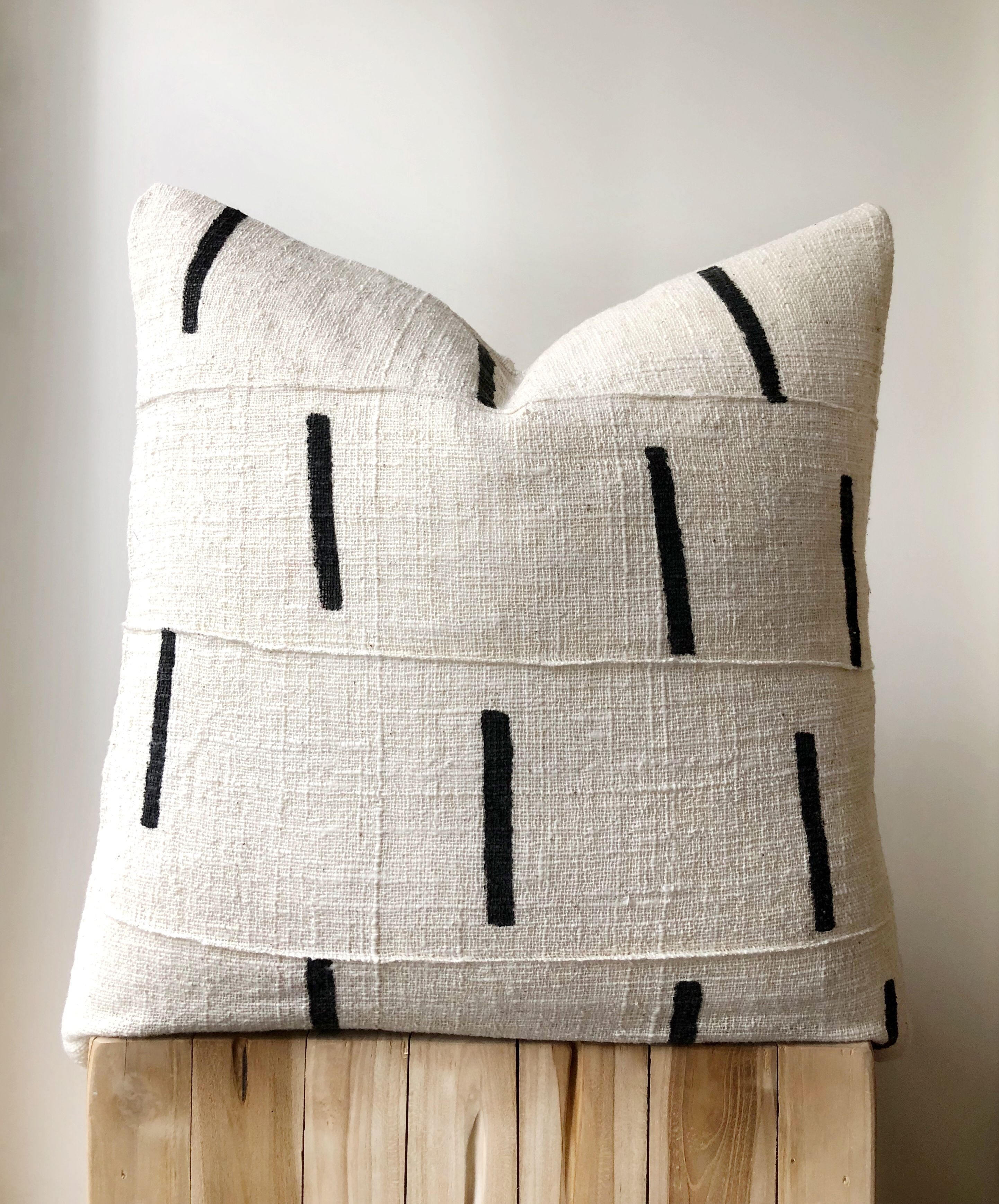Mudcloth cushions on Etsy