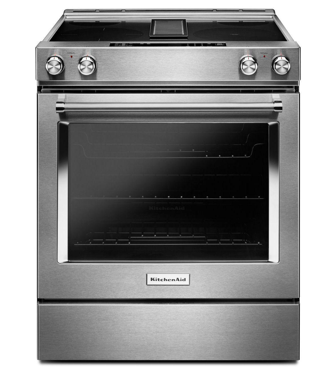 kitchenaid stove top electric