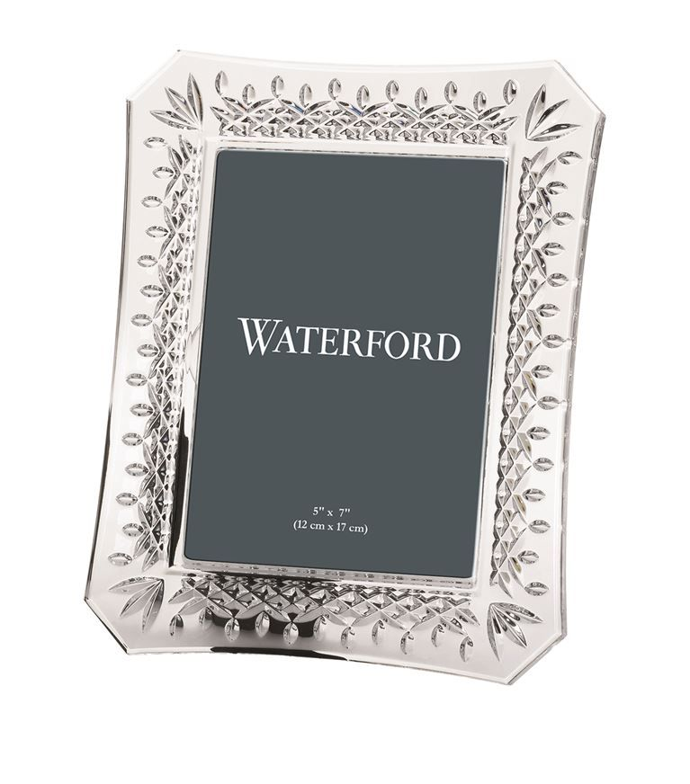 Homewares Photo Frames Waterford Lismore Photo Frame 5 X 7 Waterford Crystal Lismore Waterford Lismore Waterford Crystal
