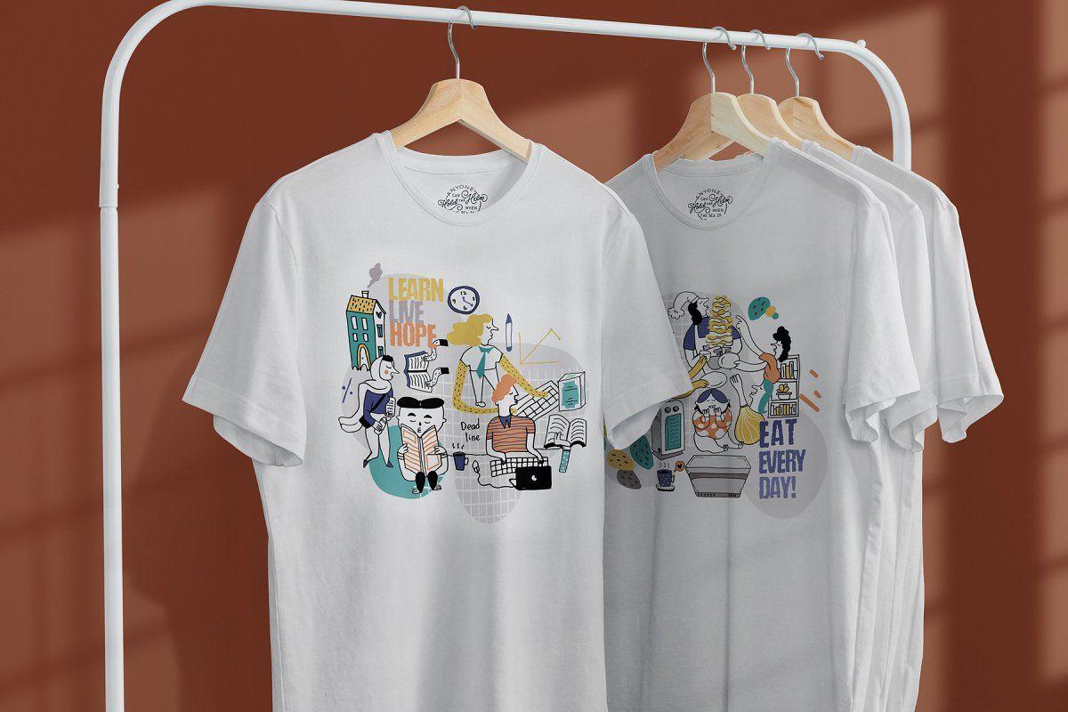 Download T Shirt Mock Up On Hanger Tshirt Mockup Business Cards Creative Templates Mockup