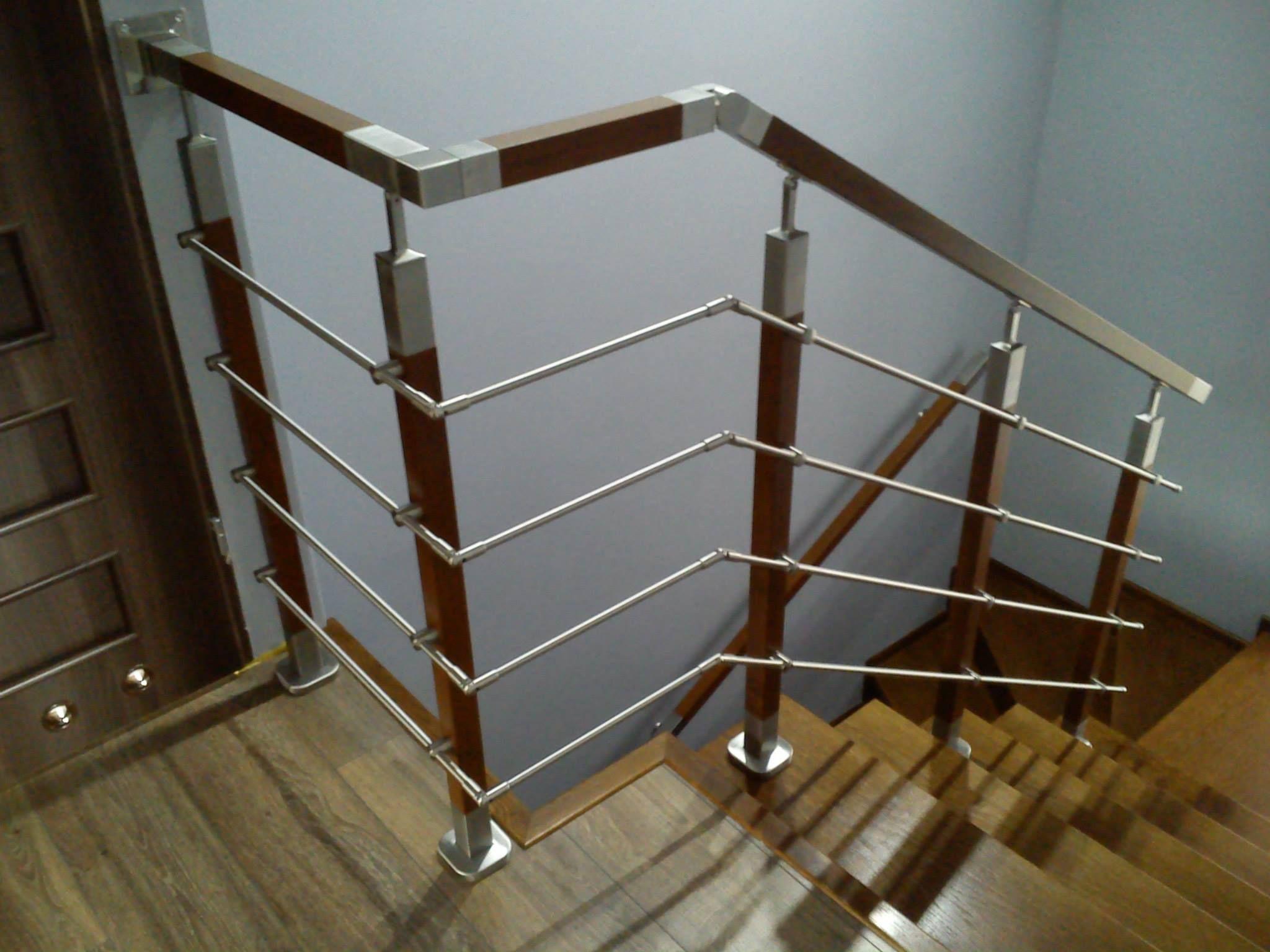 W superbly balustrada wewnętrzna schody klatka schodowa barierka handrail UE05
