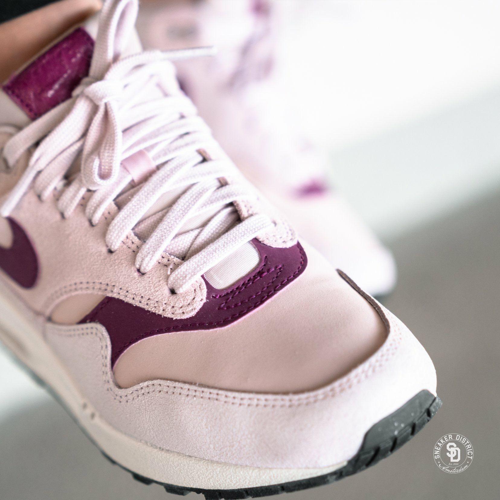 Nike Women's Air Max 1 Premium Barely Rose/True Berry | Air max ...