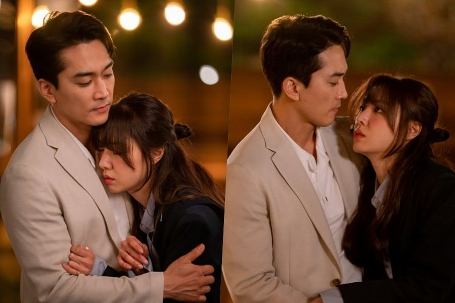 "Song Seung Heon Shares Awkward First Embrace With Seo Ji Hye In ""Dinner Mate"""