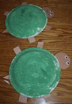 Fun turtles your preschooler can make from paper plates. Made these ...