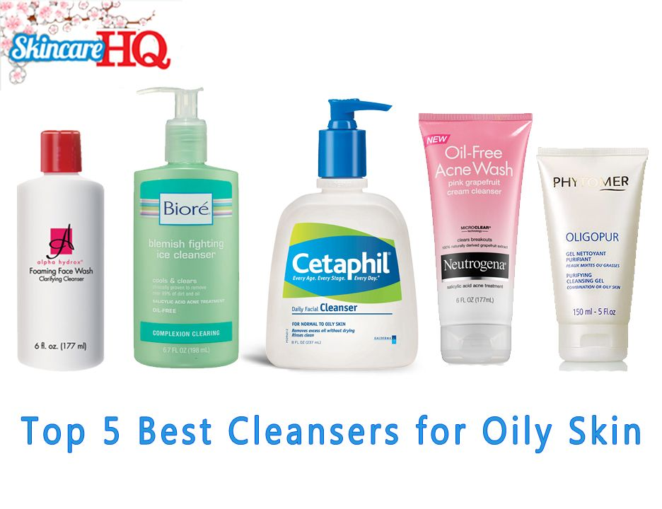 Top 5 Best Cleansers For Oily Skin Cleanser For Oily Skin Skin