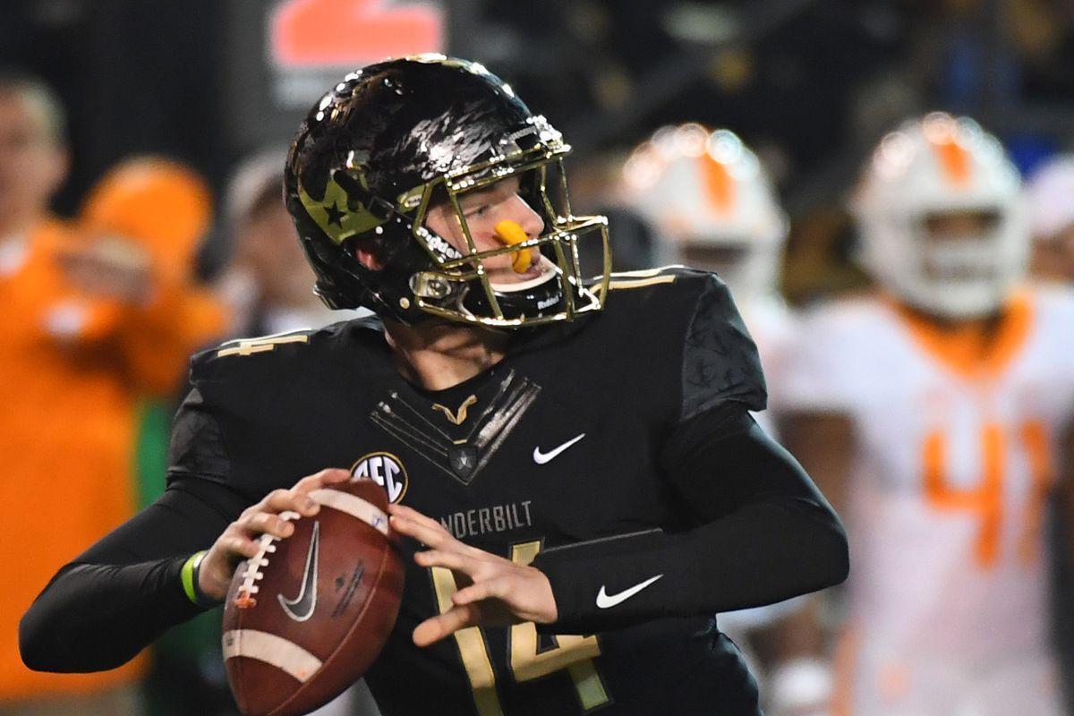 NFL Draft Scouting Snapshot Kyle Shurmur, QB, Vanderbilt