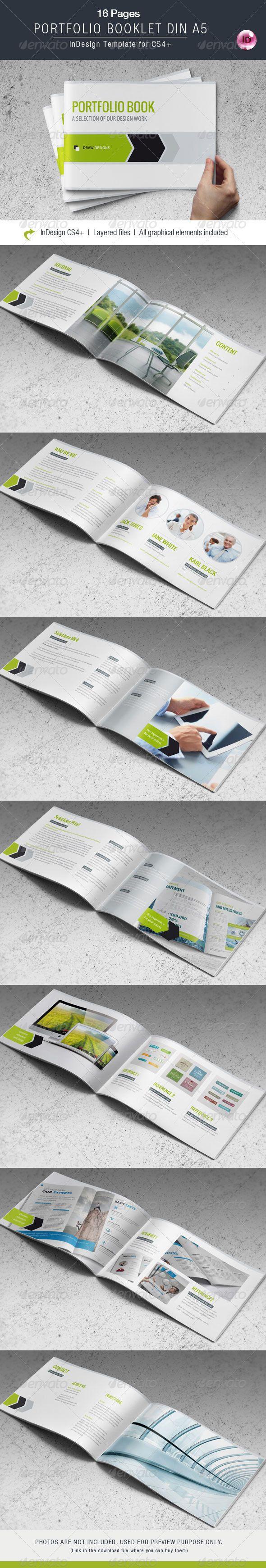 Portfolio Booklet DIN A5 by corrella2 Portfolio Booklet DIN A5 ...