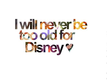 Never will!