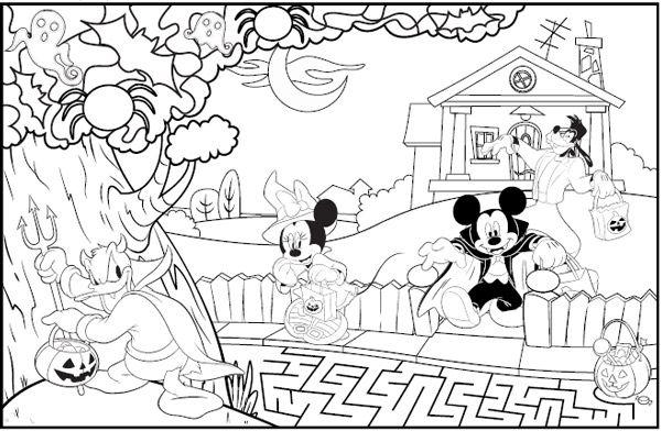 Dibujos de Halloween para colorear e imprimir gratis | Colorear ...