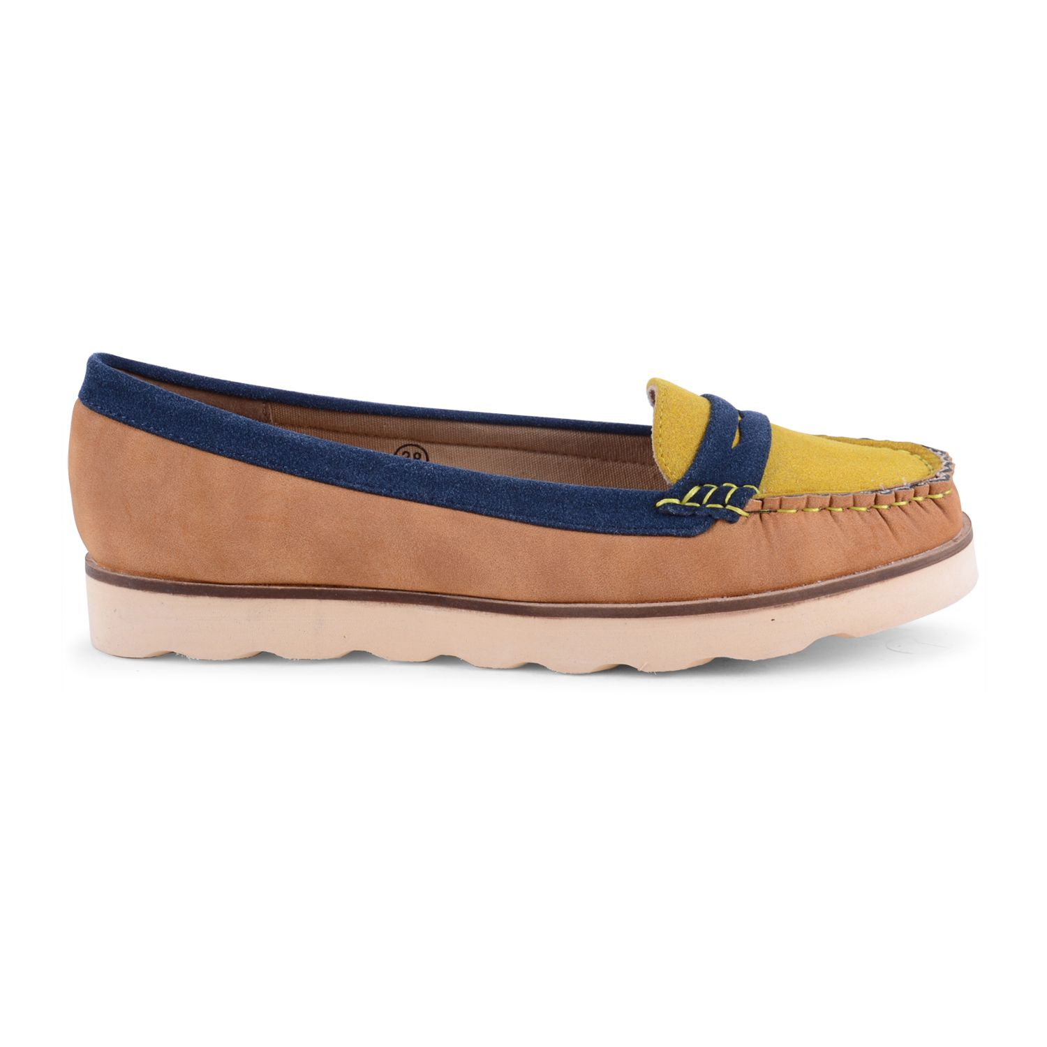 Dolcis Moccasins Deck Shoes In Vibrant Summery Colours Perfect For Brightening Up The Office