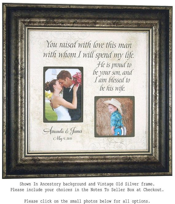 Mother of the Groom Gift Parents of the Groom Gift, Personalized ...