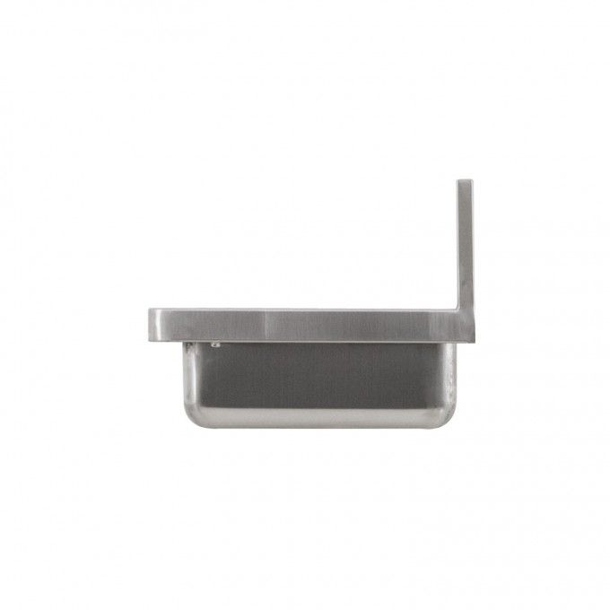 Stainless steel wall mount commercial sink guest - Commercial bathroom sinks stainless steel ...