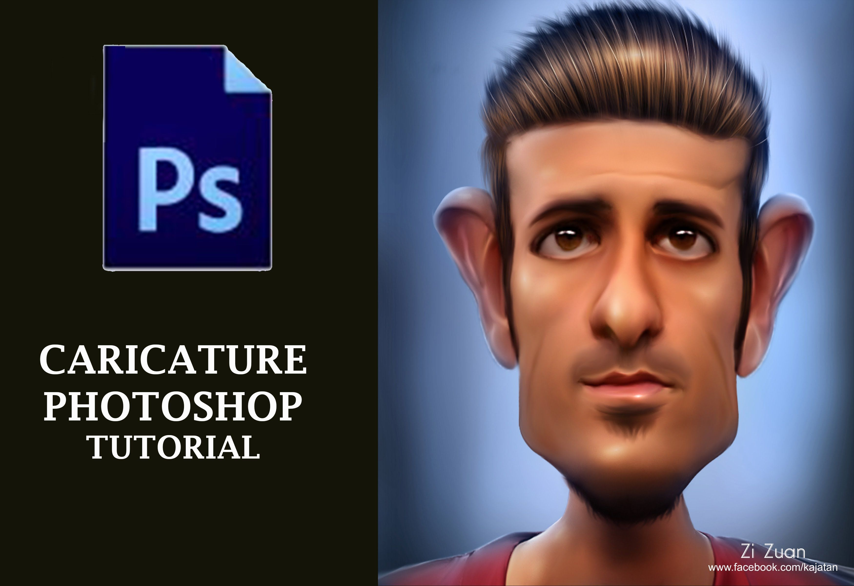 Photoshop tutorial how to make caricature in photoshop cs6 photoshop tutorial how to make caricature in photoshop cs6 baditri Gallery