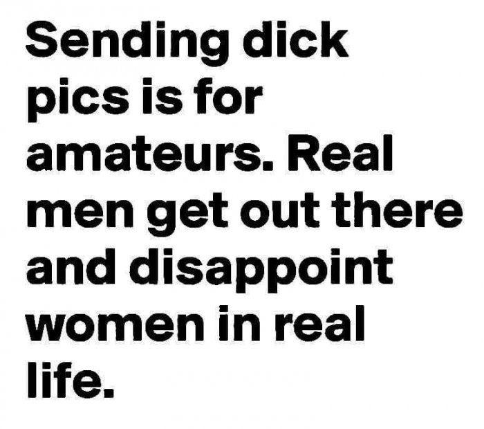 Funny sayings using dick
