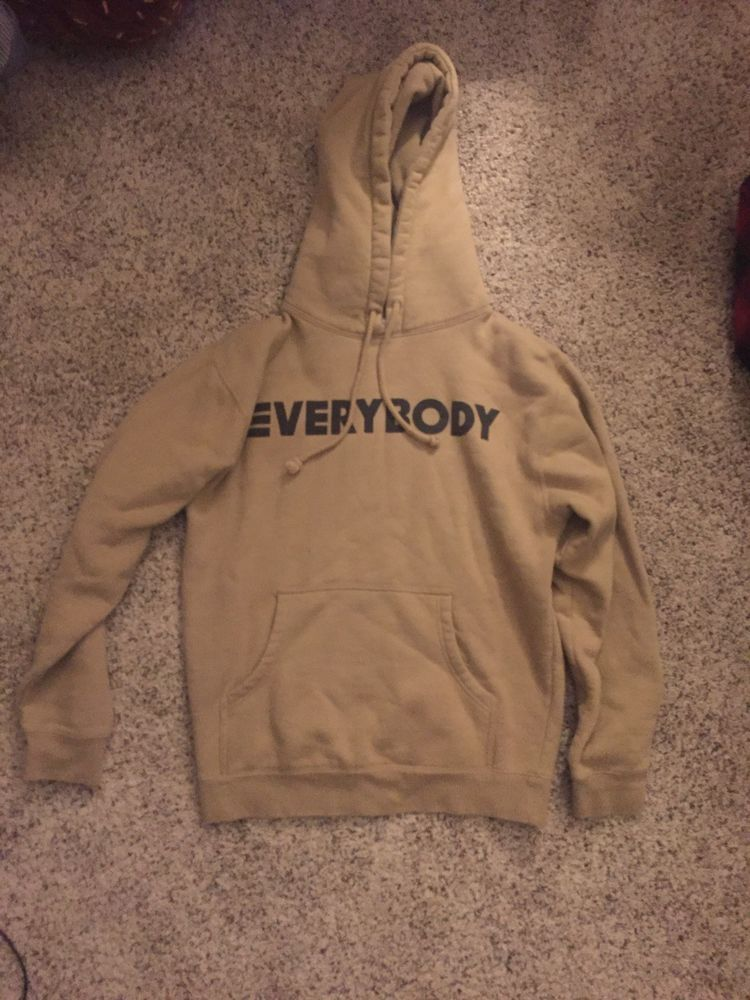 Logic Everybody Hoodie (Tan) Super Small Unnoticeable