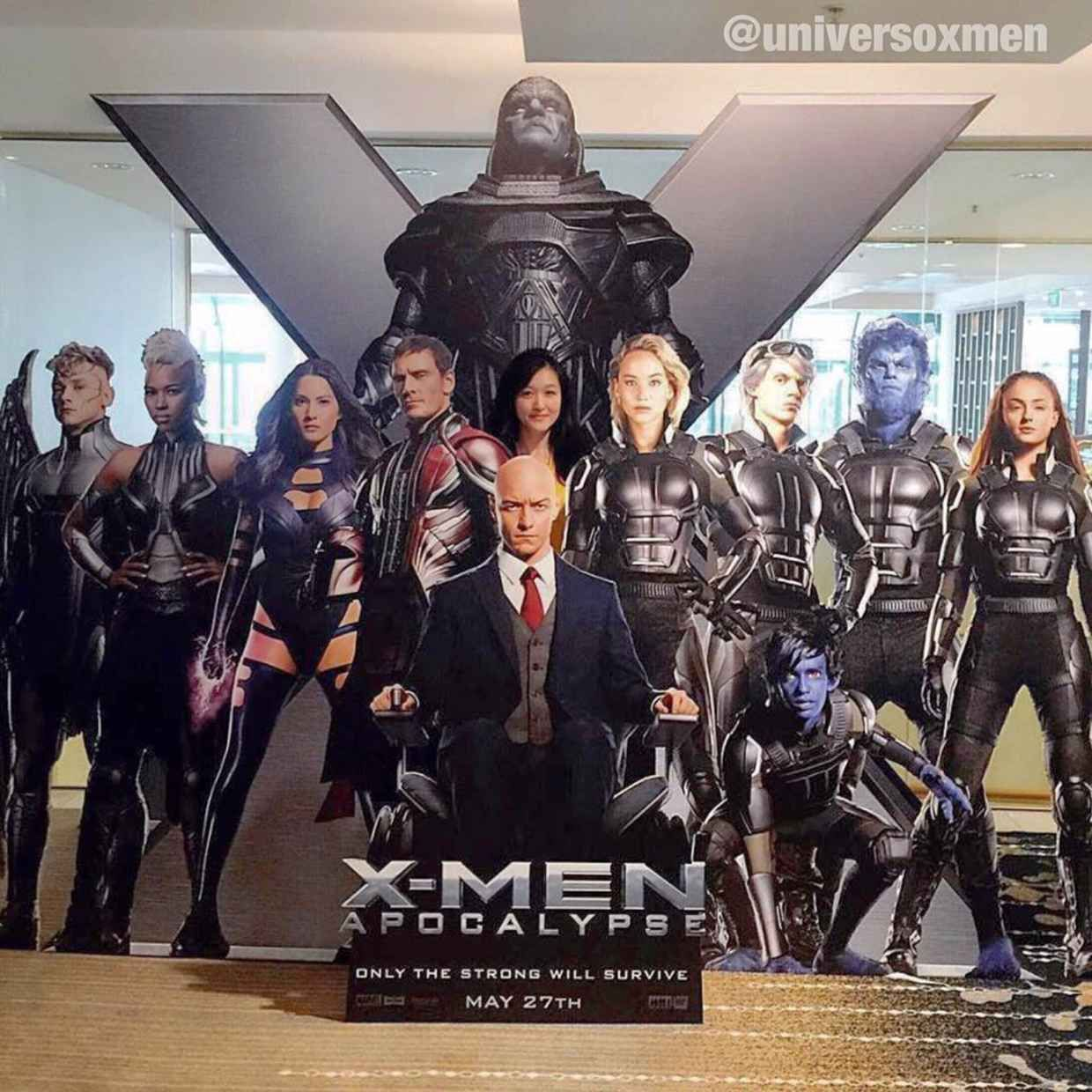 First Look At Almost The Full Cast Of X Men Apocalypse X Men Apocalypse Xmen Apocalypse X Men