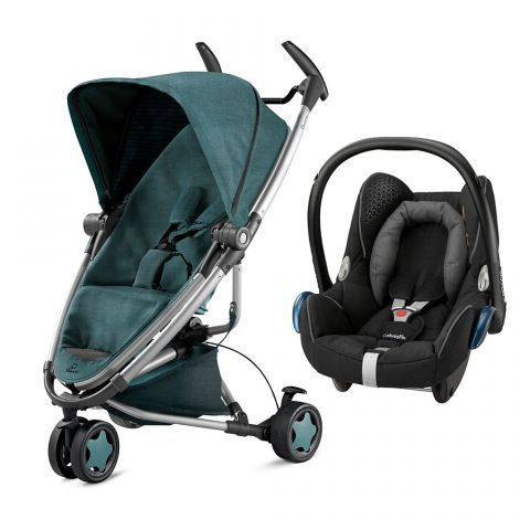 Quinny Zapp Xtra 2 Stroller in Novel Nile 2015 with Maxi-Cosi ...