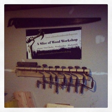 Hand Drill Shelf