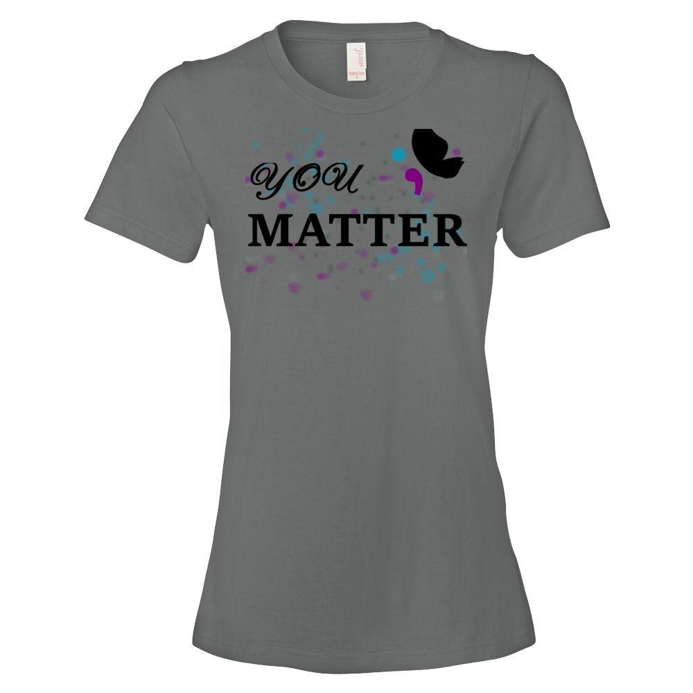 """Be.U """"You Matter"""" Suicide Awareness Tee"""