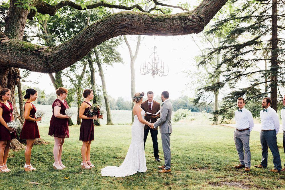 Hidden vineyard wedding barn a premier wedding venue in