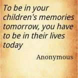 be IN their lives....