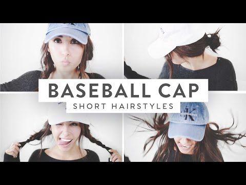 93cc819e2de 3 Baseball Cap Hairstyles!
