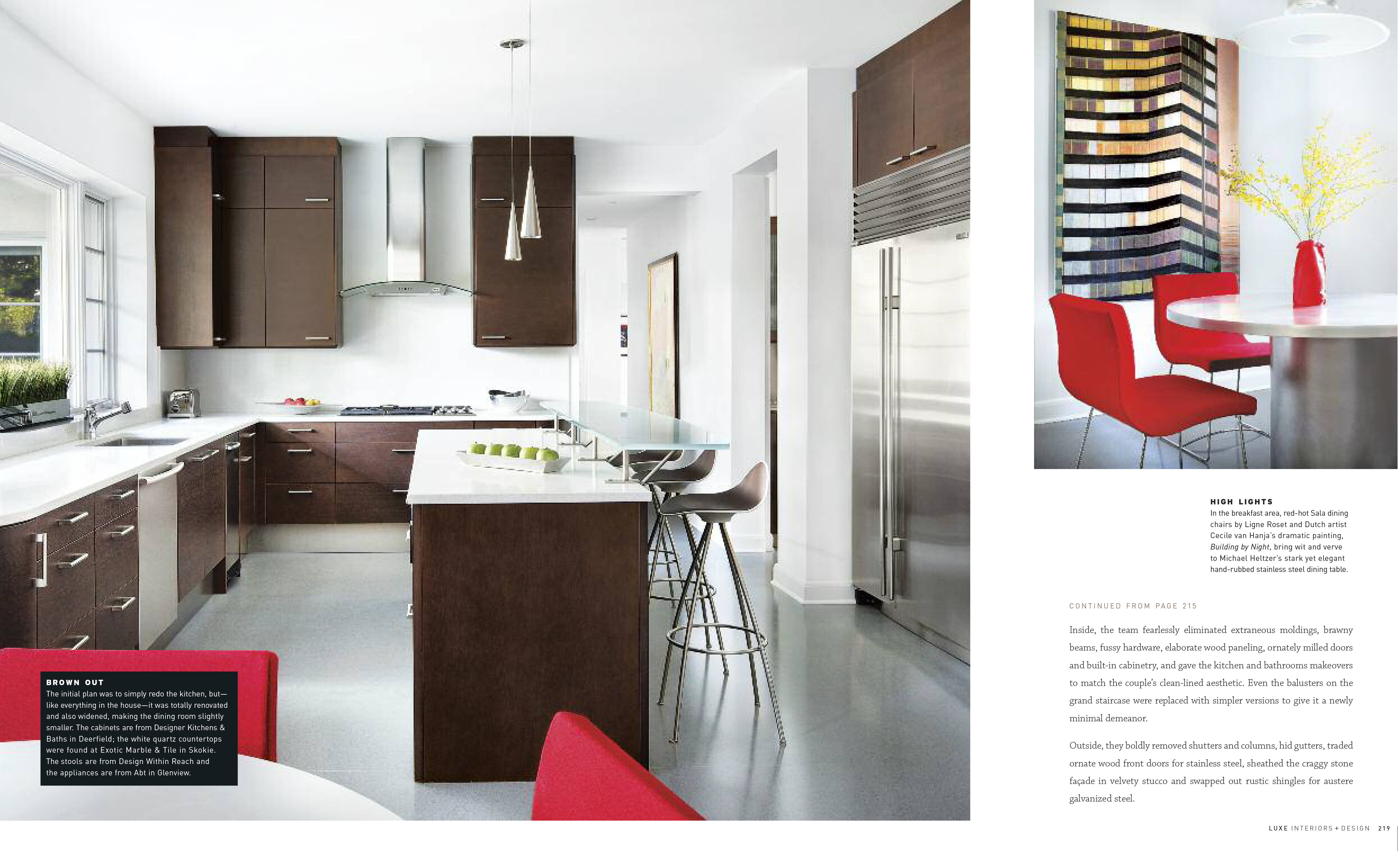 2011 luxe interiors design magazine chicago the couple was after