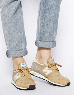 new balance camel 420 sneakers Encontrado en rstyle.
