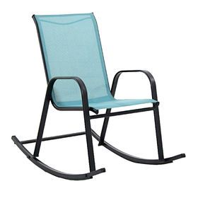 Picture Of Blue Spa Sling Rocker