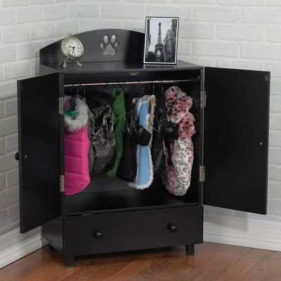 Captivating A Wardrobe To Keep All Of Your Little Dogu0027s Clothes And Accessories  Organized ~ This Is Too Cute!